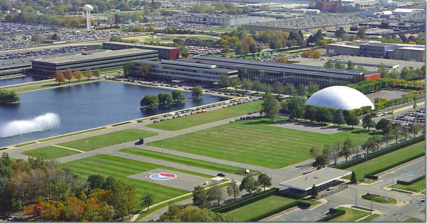 General motors seizes every opportunity to capitalize on for General motors cadillac headquarters