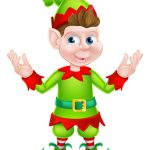 picture of santa elf