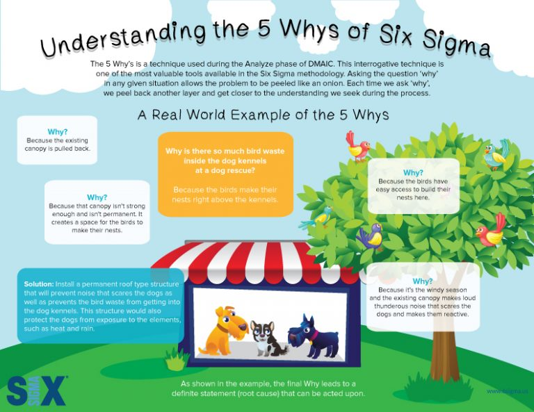 Infographic Determining The Root Cause Through The 5 Whys