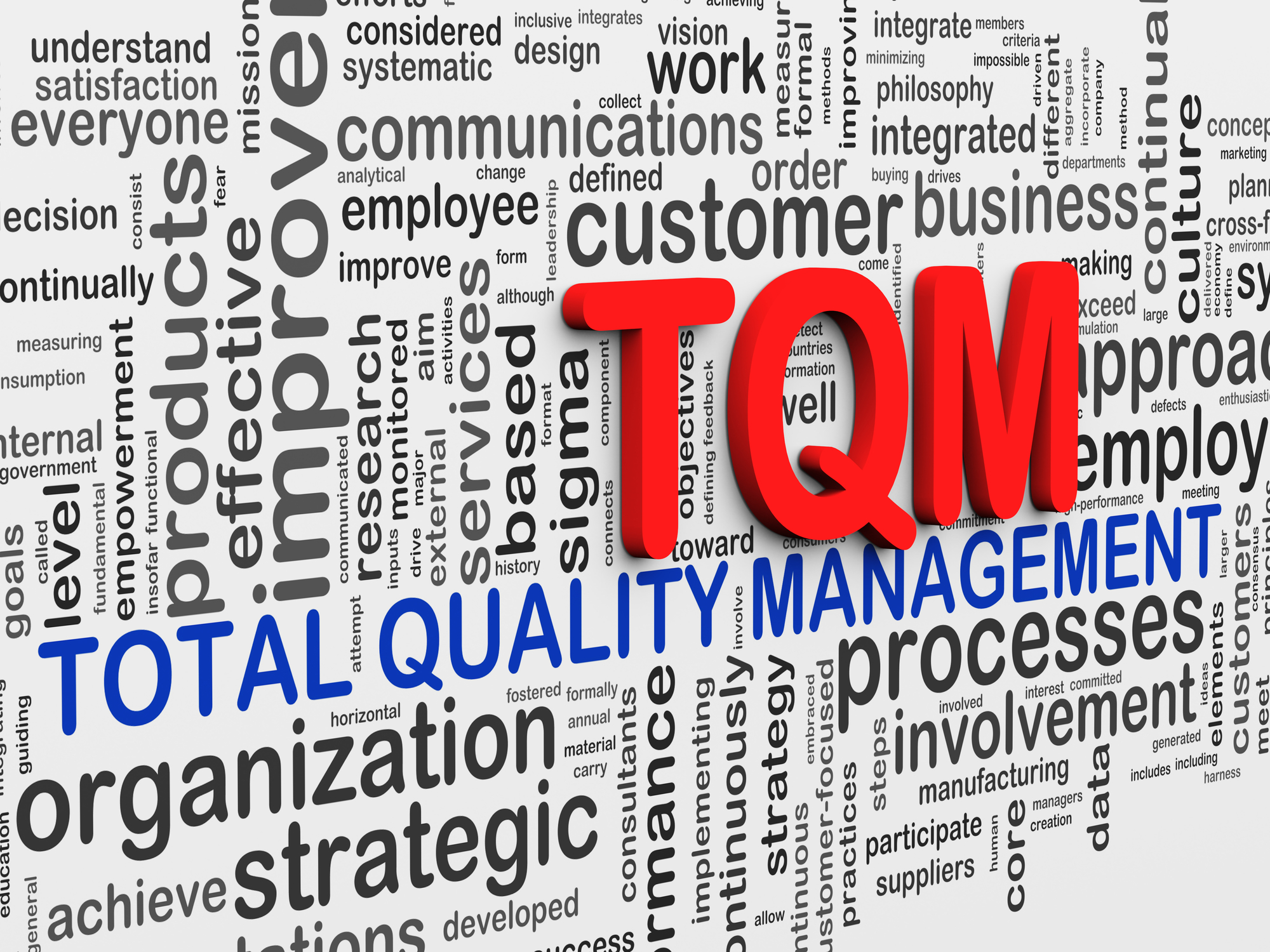 an analysis of the total quality management method Total quality management (tqm) is a popular customer-based methodology of quality control and improvement derived from japanese industry since the the project manager gets a set of tools for planning, monitoring and solving potential issues tqm implementation steps the method of total.