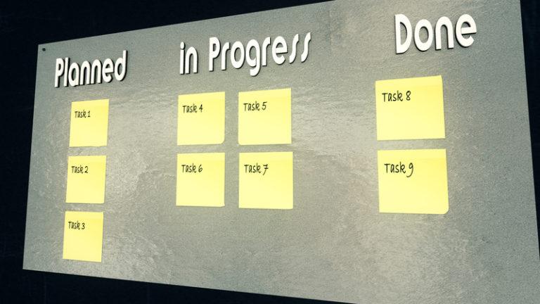 kanban board six sigma tool